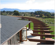 Asphalt shingles can have a rustic or modern tidy look according to profile, Motueka